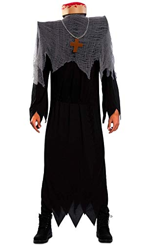 EUROCARNAVALES Disfraz de Monje Decapitado para Hombre