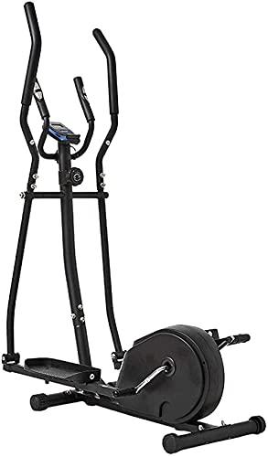 Multifuncional resistencia ajustable máquina elíptica espacio máquina paseo máquina bicicleta ejercicio caminadora gimnasio hogar portátil pequeño ultra-silencioso aeróbico fitness equipo