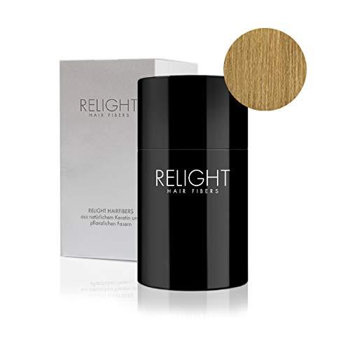 Relight Schütthaar - natürlicher Look dank natürlicher Formel. Volles Haar in Sekunden! (mittelblond)