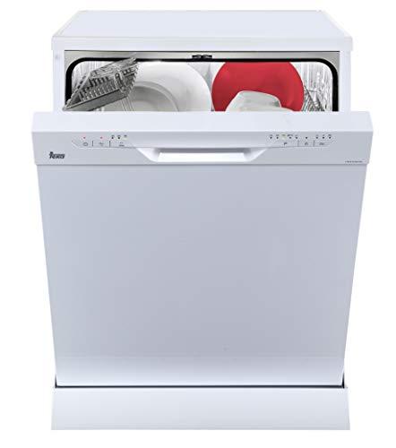 Teka LP8810freistehend Besteck 12A + Spülmaschine–Spülmaschinen (freistehend, Weiß, Full Size (60cm), weiß, Knöpfe, 12Besteck)