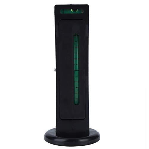 Tomantery Magnetisches Messwerkzeug Magnetisches Füllstandsmessgerät Supermagnetische Kraft zur Erkennung der Radkrümmung(Black)