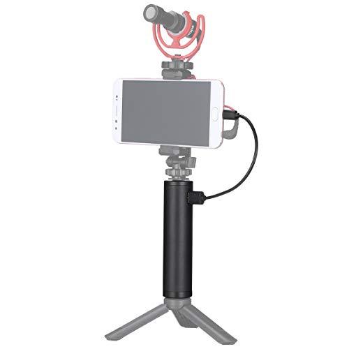 ULANZI BG-2 6800mAh Power Bank Hand Grip for Sony RX100 VII Canon G7X Mark III Compact Digital Cameras, GoPro 10 9 8 Action Cameras, DJI OSMO Pocket, and iPhone 13 Samsung Google OnePlus Smartphones