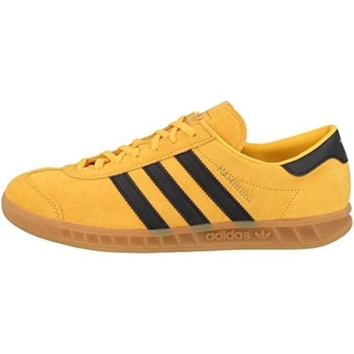 adidas Hamburg, Zapatilla, Reyel/Black/Gold, Talla 9 UK (43 1/3 EU)
