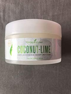 Young living Coconut Lime Replenishing Body Butter 2.82 oz
