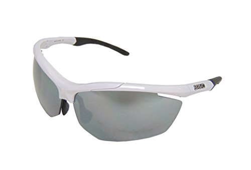 Briko Trident Sonnenbrille, Radfahren, Unisex Erwachsene, grün/schwarz, Einheitsgröße