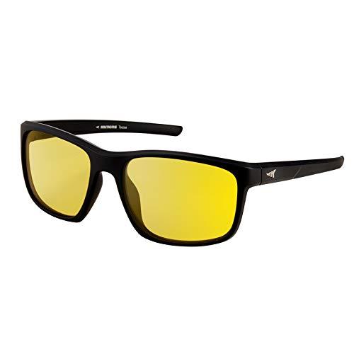 KastKing Polarized Night Vision Driving Glasses for Men and Women, Modern Wayfair Design,Yellow Lens