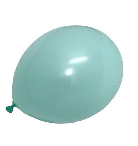Ballonheld 25 Luftballons Mint Premiumqualität Ø ca. 27cm B85 (Standardgröße)