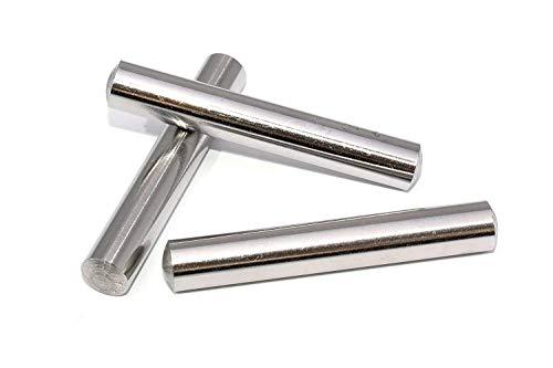 20 Stück Zylinderstifte 8x30 DIN 7 Edelstahl V1A Zylinderstift Paßstifte Toleranz M6