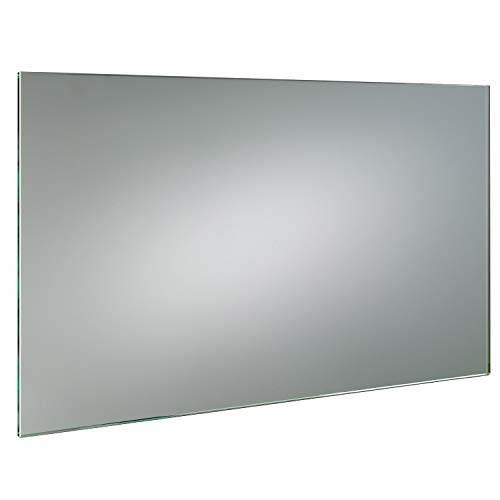 SARAR GLASWERK24 KRISTALLSPIEGEL 6mm nach Mass - (B) 60 cm x (H) 90 cm - Made in Germany - Technik 2021 Badezimmerspiegel Wandspiegel Bad Kristall Spiegel Klebespiegel 6 mm