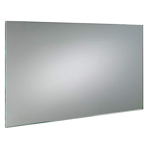 SARAR GLASWERK24 KRISTALLSPIEGEL 6mm speziell nach Wunschmass - (B) 60 cm x (H) 90 cm - Made in Germany - Technik 2019 Badezimmerspiegel Wandspiegel Bad Kristall Spiegel Klebespiegel 6 mm