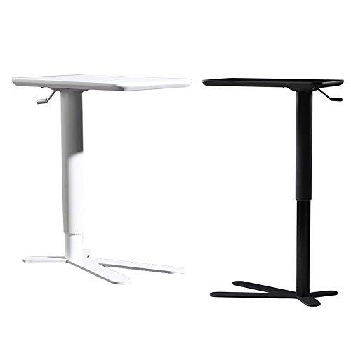 JRPT Welcome Desk Einstellbare 35Cm,Rednerpult Säulendurchmesser 8 Cm,Stehpult 3Cm Dicke Folie Mehrfachauswahl Einfache Montage/Schwarz / 60×35×102cm