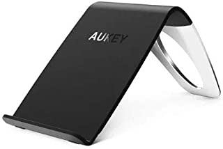Aukey RTL LC-C1 Qi-Enabled Wireless Charging Stand with Three Coils, Black