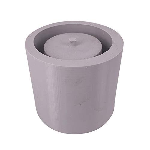 DIY Silicone Flower Pot Mold Large Round Shaped Molds for Candle Holder Making Succulent Plants Planter Pot Mould Concrete Moulds (Color Random)