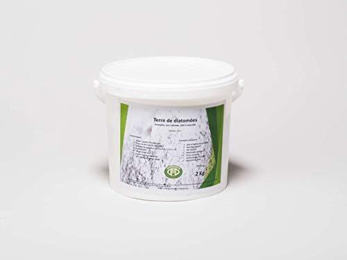 Diamix®Terre de diatomée, Alimentaire - 2KG- Utilisable en Agriculture Biologique - Haute pureté sans Traitement - Nombreux usages en Basse Cour et Maison.