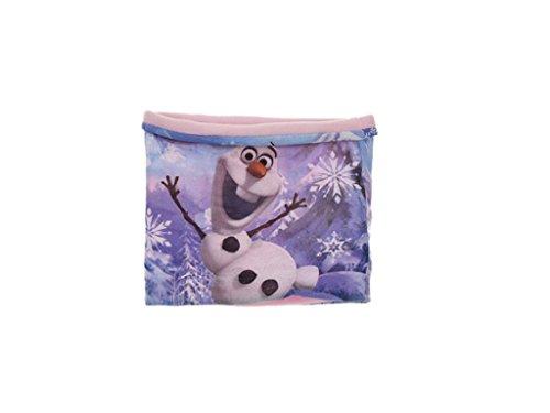 Disney Frozen Eiskönigin Schlauchschal mit Olaf, Rosa, One Size