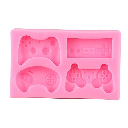 Formen Controller Gamepad Spiel Silikonform Tastatur Baby Geburtstag Fondant Kuchen Dekorationswerkzeuge Candy Clay Schokolade Gumpaste Formen
