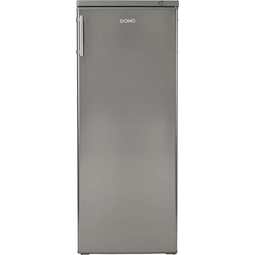 Domo DO924DV Autonome Droit 147L A++ Acier inoxydable congélateur - Congélateurs (Droit, 147 L, 42 dB, 4*, A++, Acier inoxydable)