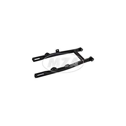 Schwinge N vollst. - mit Buchsen - mit Aufhängung für Soziusfußrasten - schwarz beschichtet - S50, S51N