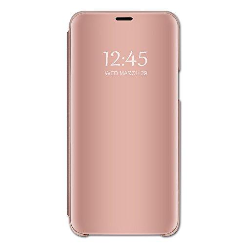 Beryerbi Funda Xiaomi Redmi 5,Carcasa Xiaomi Redmi 5 Plus Espejo Mirror Flip...