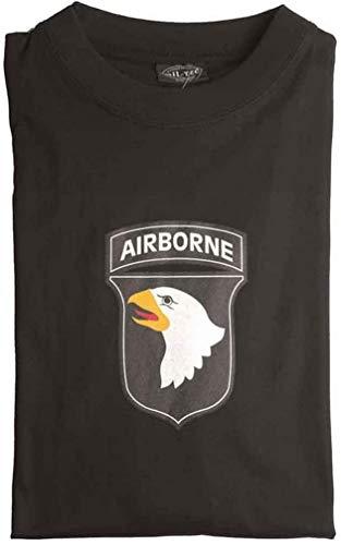 Mil-tec airborne t-shirt noir XL Noir - Noir