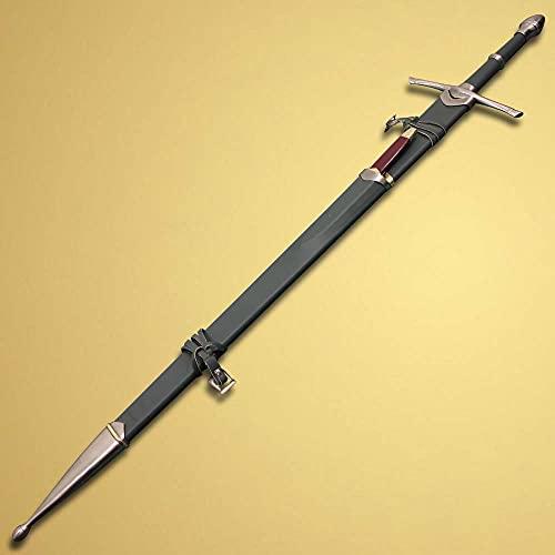 Aragorn Strider Ranger Sword W/ Knife Replica (Green Color)