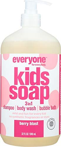 Everyone Soap 3 in 1 Kids Berry Blast 32 Ounce product image