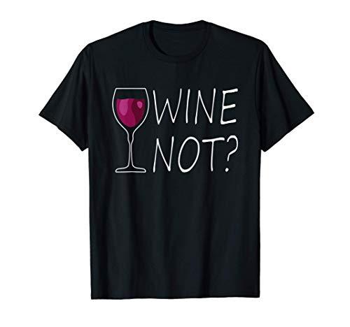 Amantes Del Vino Wine Not Amor Al Vino Enólogo Vino Regalo Camiseta