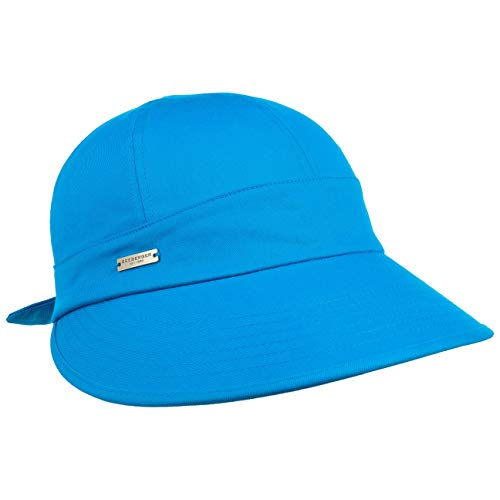 Seeberger Freizeitkappe Damencap Baumwollkappe (One Size - Royalblau)