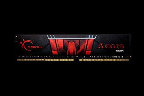 G.Skill Aegis DDR4 módulo de - Memoria (8 GB, 1 x 8 GB, DDR4, 2666 MHz, 288-pin DIMM)
