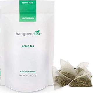 HangoverTea All Natural Hangover Cure - Kudzu Thistle Blend - Herbal Green Tea (1.23 ounces)