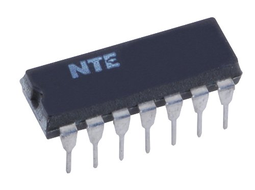NTE Electronics NTE923D Integrated Circuit Precision Voltage Regulator, 14-Pin Dip Package, 40V Input Voltage