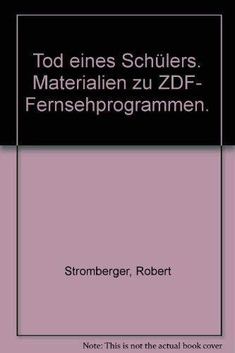 Materialien zu ZDF- Fernsehprogrammen. von Robert Stromberger, Claus Peter Witt, Didi Benoit, Wilfried Hoff