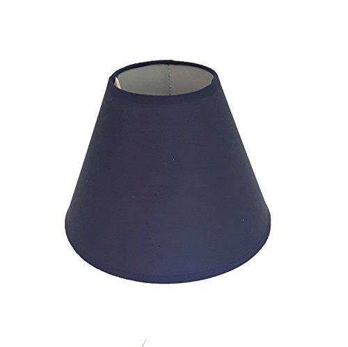 9' Coolie Ceiling Table Lamp Shade Black Cream Lt Blue Lt Green Navy Peach Red - Main Colour: Navy