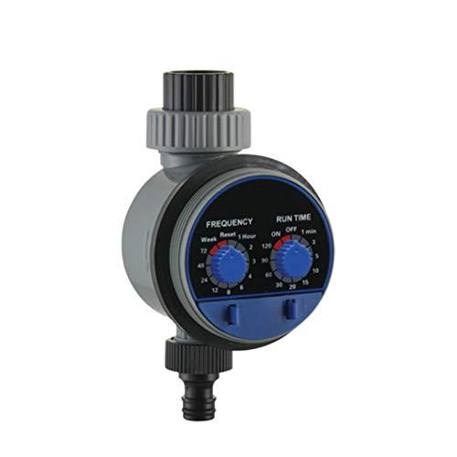 CHUN LING Temporizador de Agua de Manguera, Temporizador de riego electrónico automático de válvula de Bola, Controlador de riego de jardín doméstico, Trabajo con presión Cero