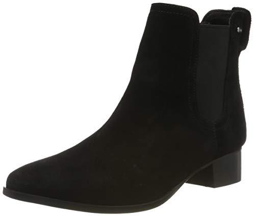 ESPRIT Damen Ebles TG Bootie Stiefeletten, Schwarz (Black 001), 39 EU