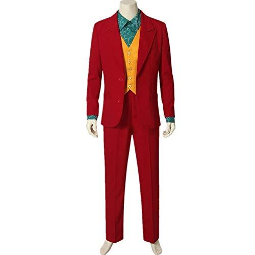 WSJDE Joker Joaquin Phoenix Arthur Fleck Cosplay Disfraces M