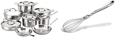 Top 10 Best all clad d5 brushed stainless steel cookware Reviews