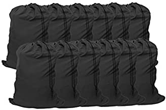 "YETHAN Extra Large Laundry Bag 12 Pack, Travel Laundry Bags with Drawstring Closure, 30""x40"", for College, Dorm and Apartm..."