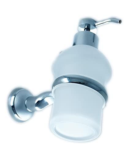 Hotelia SC2 - Soporte para jabón líquido para baño (cromado)