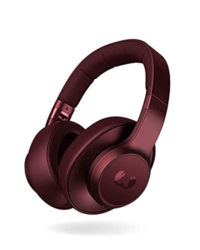 Fresh 'n Rebel Clam ANC Headphones over-ear Red Ruby, Cuffie Sovraurali Bluetooth senza fili con Active Noise Cancelling (cancellazione del rumore), Cavo di riserva, rosso rubino