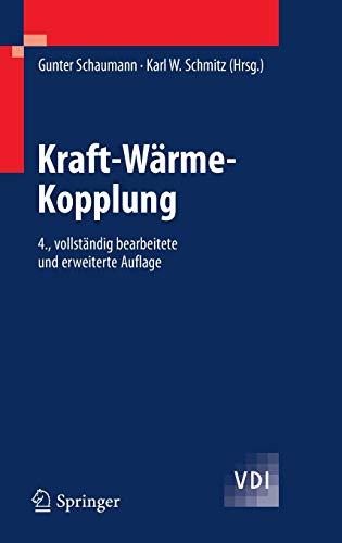 Kraft-Wärme-Kopplung (VDI-Buch)