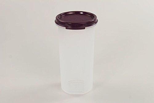 TUPPERWARE Circular 650 ml dunkel lila Deko Back Zauber Dose für Kaffee Pads 15312
