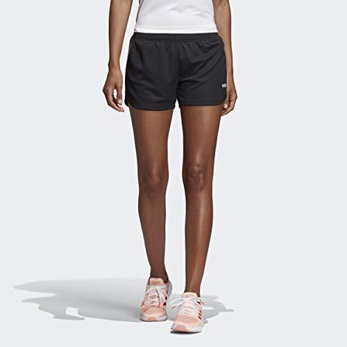 adidas Pantalones Cortos W D2m 3s KT Sht para Mujer, Mujer, Pantalones Cortos, FSE80, Negro/Blanco, S