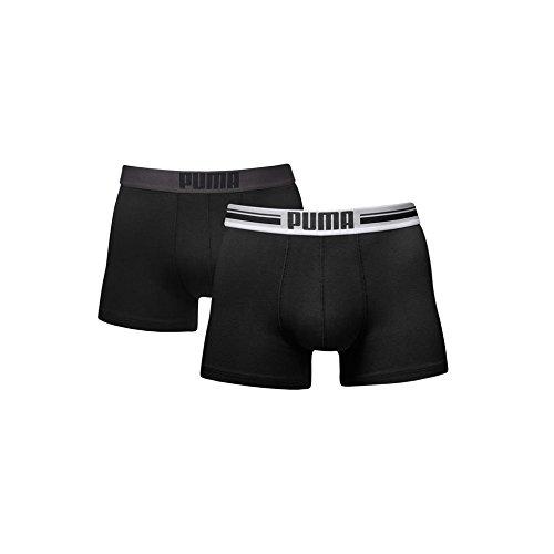 PUMA Logo Placed Calzoncillos de Boxer 10 Pack, Hombre, Negro: Amazon.es: Deportes y aire libre