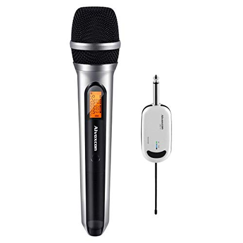 Alvoxcon Handheld Wireless Microphone System