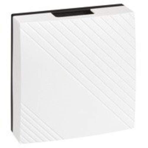 Legrand LEG94265 deurbel, wandmontage, geïntegreerde transformator 12 V, wit