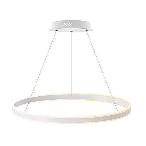 Luminaria colgante RING UP 100W, Ø800mm, CCT regulable, Blanco dual, regulable