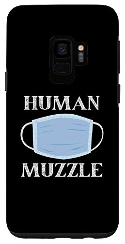 Galaxy S9 Masks Are Human Muzzles - Wear Your Masks Sheep Case