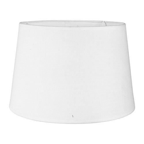Sema 97205Lampenschirm rund Textur/Stoff Weiß