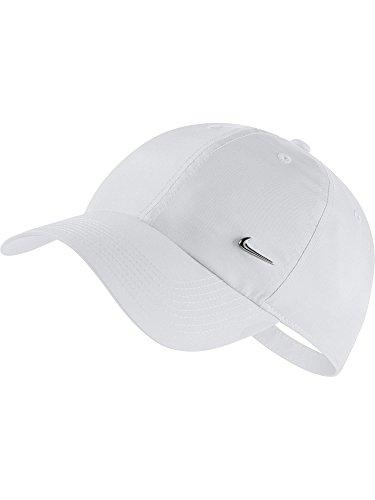 Nike U H86 Cap NK Metal Swoosh Hat, weiß, MISC